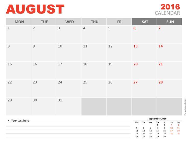 13 Best Calendar Powerpoint Templates Images On Pinterest Free