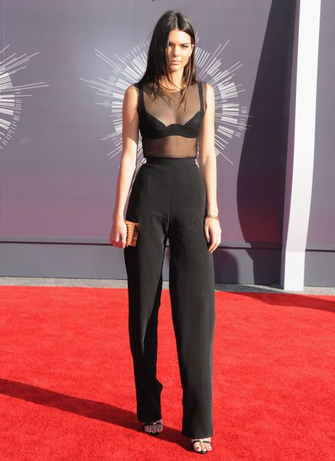 At the MTV Video Music Awards. See all of Kendall Jenner's best looks.