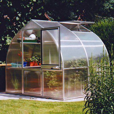 Hoklartherm RIGA IIS 7.6 x 7-Foot Greenhouse Kit