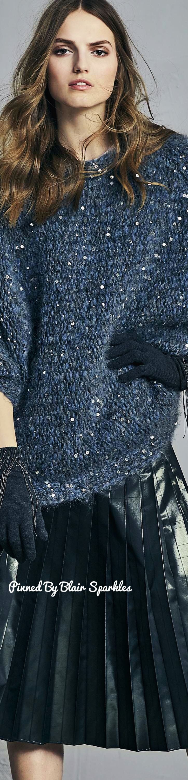 Brunello Cucinelli Fall RTW 2017 (MFW)♕♚εїз | BLAIR SPARKLES |