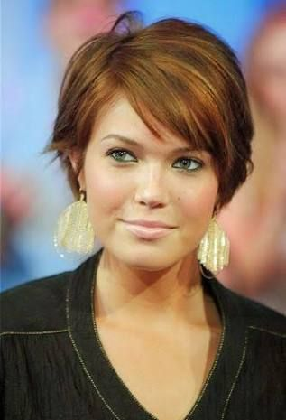 flattering hairstyles for fat faces - Google Search