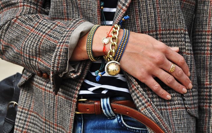 Trendspotting: Sporting Friendship on Your Wrist | Man Repeller