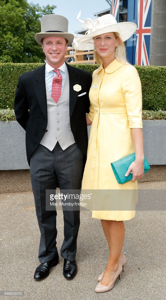 Tom Kingston and Lady Gabriella Windsor attend day 1 of Royal Ascot at Ascot Racecourse on June 20, 2017 in Ascot, England. (Photo by Max Mumby/Indigo/Getty Images)