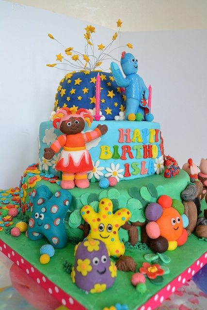 1000 Images About Cbeebies Cakes On Pinterest Gardens