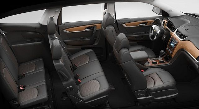 2016 Chevrolet Traverse interior #design