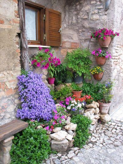 Wonderful color combinations. #garden http://www.annabelchaffer.com/