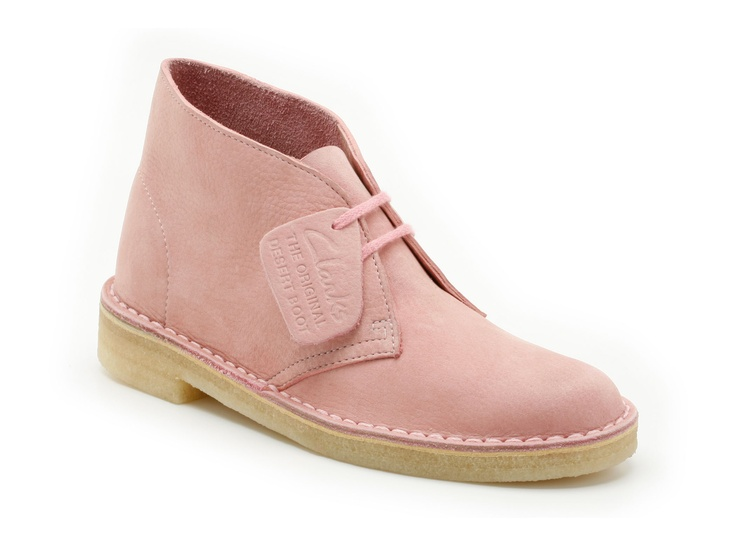 Clarks shoe - Use to call these Hushpuppies but they weren't in pink.