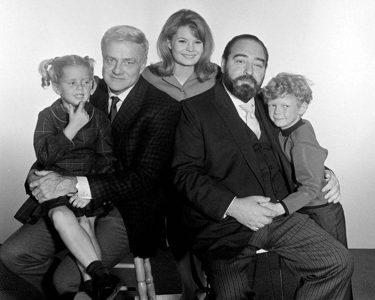 "Family Affair  - Anissa Jones (Ava Elizabeth ""Buffy"" Patterson-Davis), Brian Keith (Uncle Bill Davis), Kathy Garver (Catherine ""Cissy"" Patterson-Davis), Sebastian Cabot (Mr. Giles French), Johnny Whitaker (Jonathan ""Jody"" Patterson-Davis) 1966"