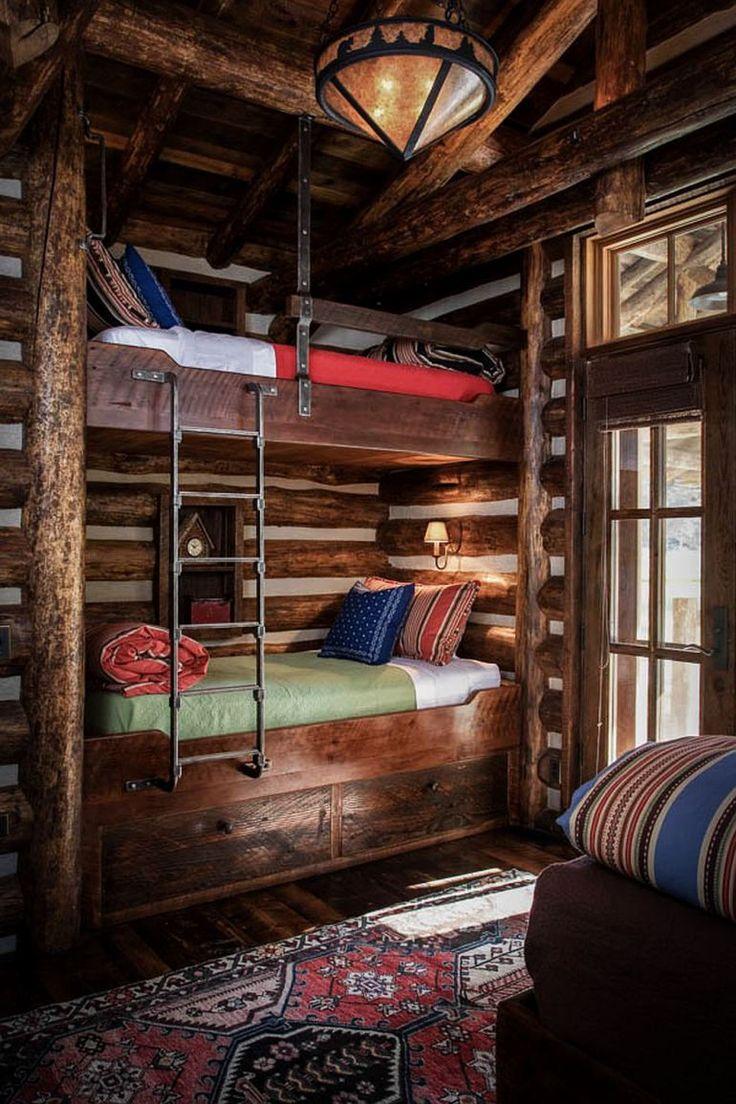 adelaparvu.com despre casa de oaspeti langa cabana din barne de lemn in Montana, design Miller Architects, casa lemn SUA, casa lemn Paradise Valley (4)