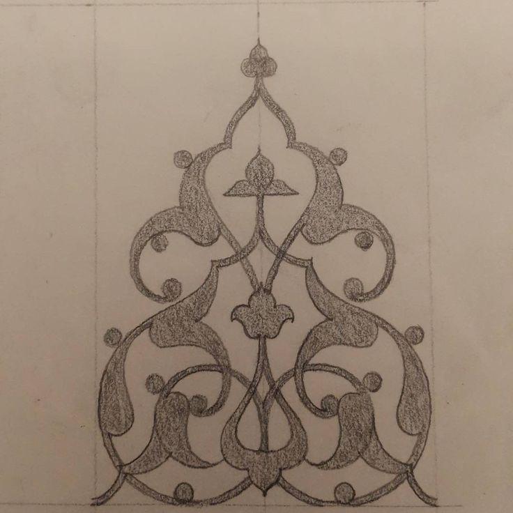 Rumi sketch#islamicart#finearts#exercise#calligraphic#tazhib#ornamentation#illumination#pencildrawing#istanbul