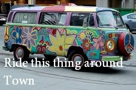 Ride this thing around town
