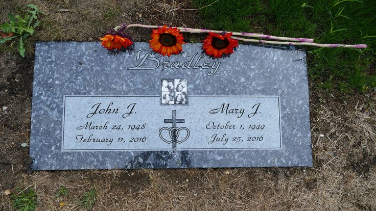 My parents gravestone, both passed in 2016. My father in February, then my mother passed on their 46th wedding anniversary on July25th.
