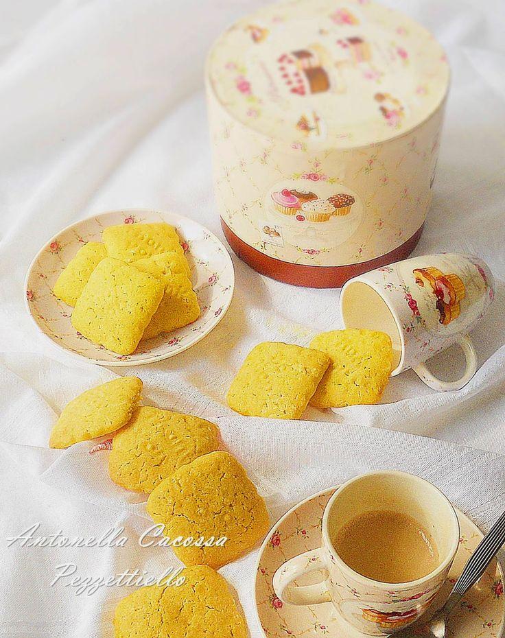 Biscottini morbidi al caffè vanigliato Musetti