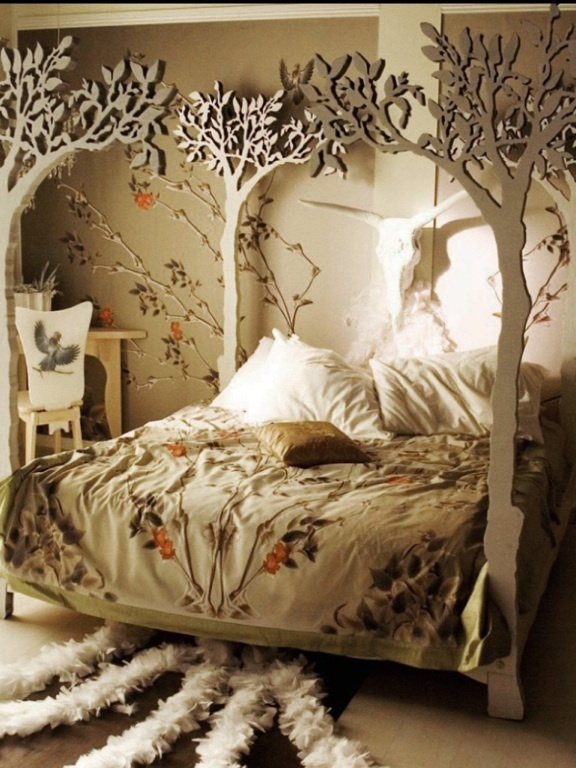 How Cool Would That Be For A Little S Snow White Room Just Add