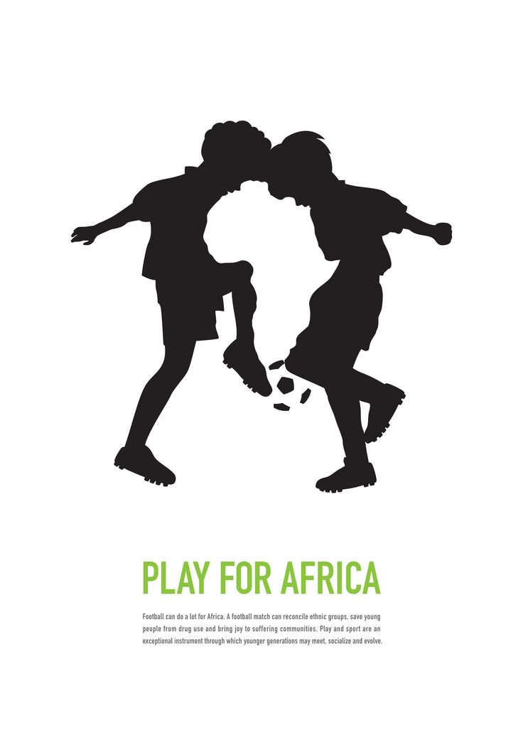 """Play for Africa"" by  Anita Lam (United States). Good50x70. 2010, Play for Africa brief."