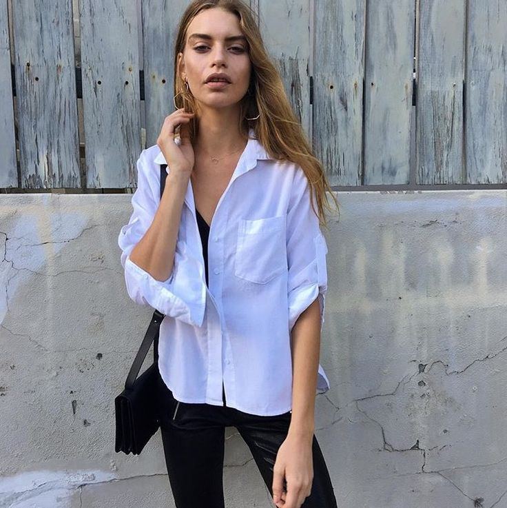 Split Back Button Down | Bella Dahl
