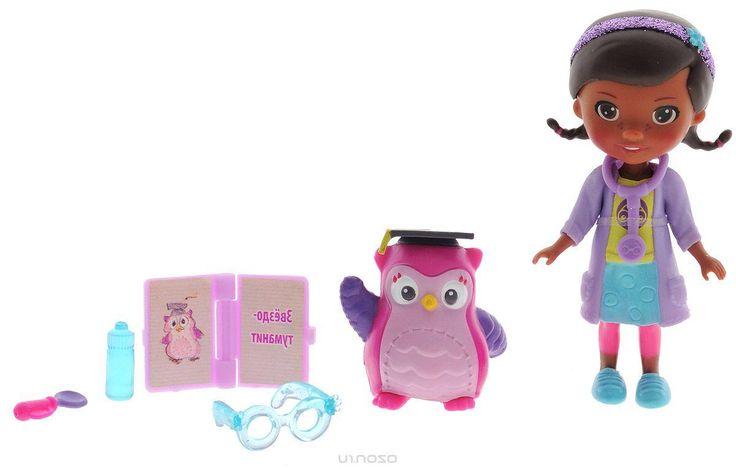 Disney Игровой набор Доктор Плюшева Глазной доктор и профессор сова