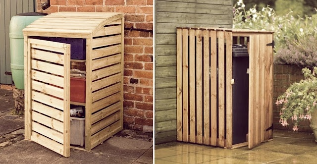 1000 Images About Garbage Can Shed On Pinterest: 1000+ Images About Garbage Can Storage On Pinterest