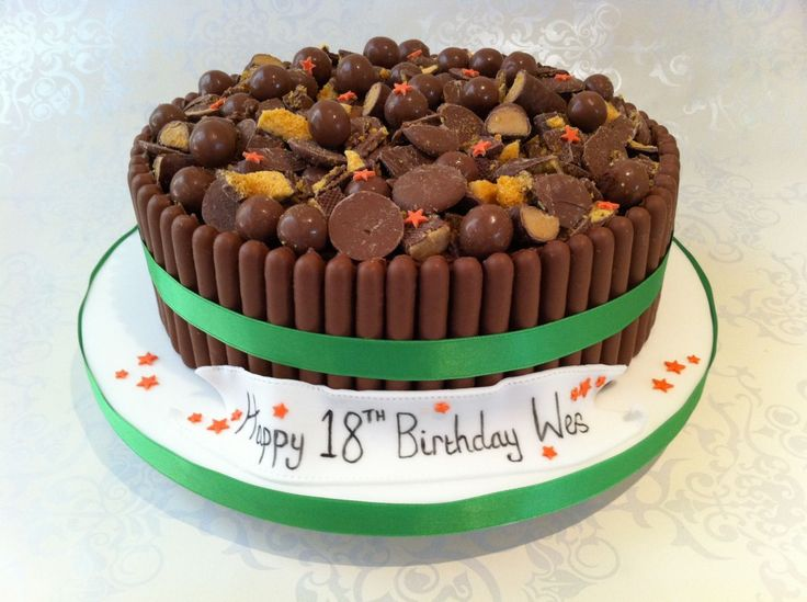 Chocolate Cake Designs For Birthday : 16 best images about Birthday Cake on Pinterest Birthday ...
