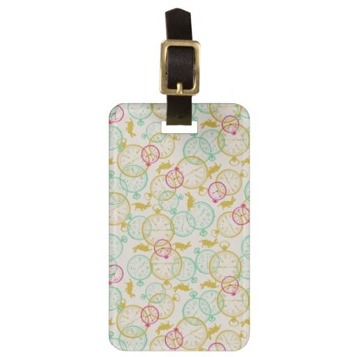 The White Rabbit Pattern. Regalos, Gifts. #Bag #Tags
