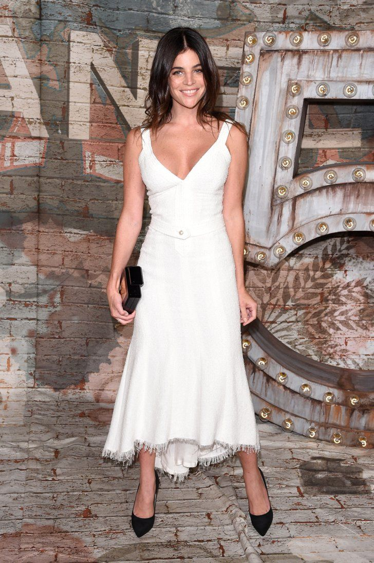 Pin for Later: Anyone Who's Anyone Was in Chanel Last Night Julia Restoin Roitfeld Julia Restoin Roitfeld at the Chanel dinner celebrating No. 5 the Film by Baz Luhrmann.