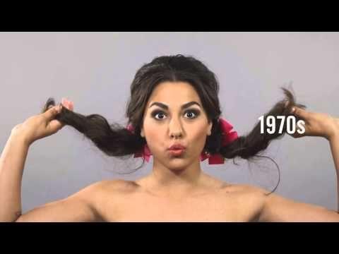 Как менялись прически девушек последние 100 лет