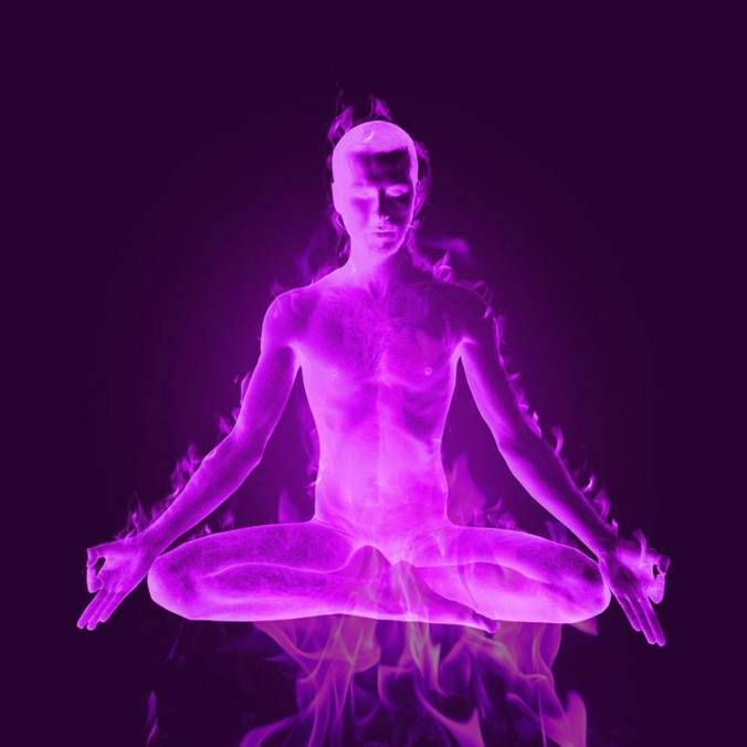 violet flame figure four