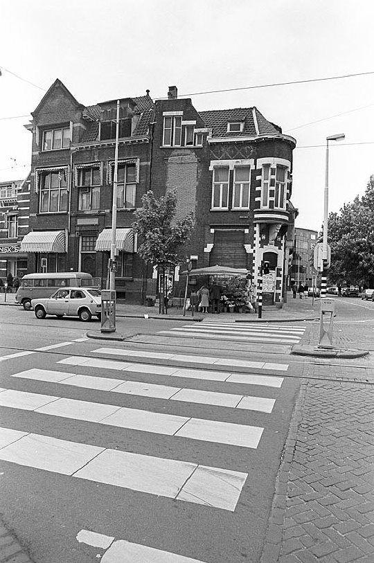 Bergweg-Bergsingel en het Eudokia Ziekenhuis, 1982 De tijd dat ik er het co-schap gyn- verloskunde liep.