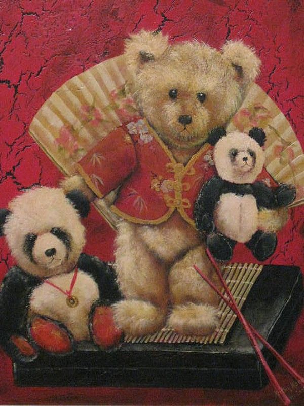 Kathy Karas — Pandamonium, 2009  (600x800)