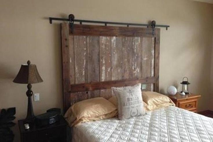Barn door headboards for sale