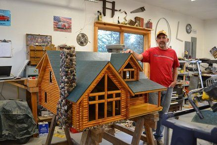 Dollhouse - pinning this simply because I know the man in the picture and I cannot believe this is on Pinterest :)