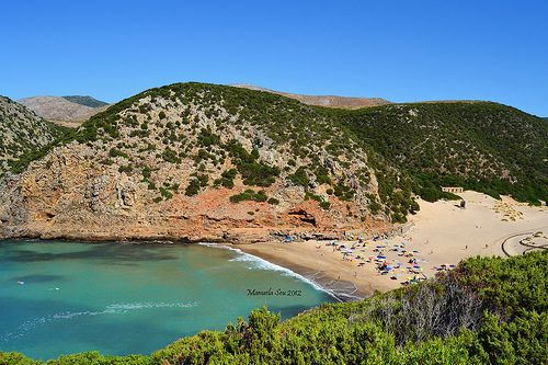 Buggerru - Cala Domestica #Sardegna #sardinia - se non vedi non ci credi... è bellissima