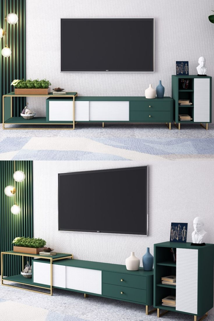 Green Tv Stand Ideas For Living Room Corner Living Room Tv Unit Designs Living Room Decor Apartment Modern Living Room Credenza