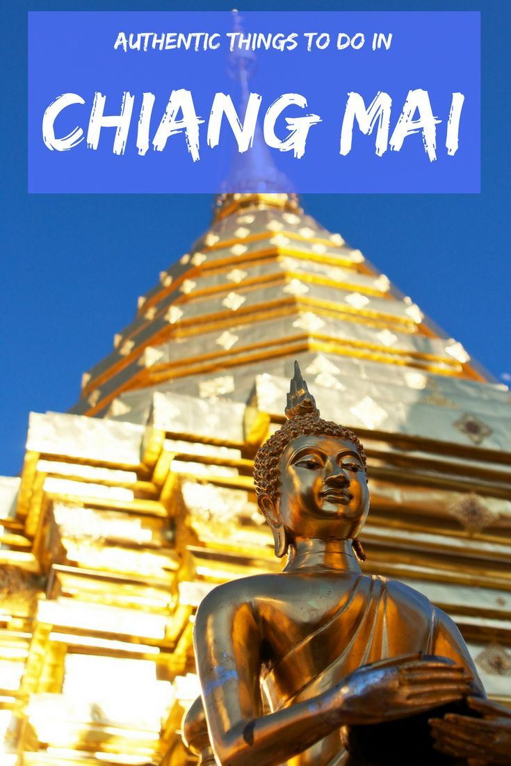 Thailand has a wonderfully rich, unique culture beneath its chaotic veneer, but too many backpackers don't experience it. Travel to the North of Thailand and spend some time in Chiang Mai, where there are plenty of cultural things to do.  #Thailand #CulturalTravel #ChiangMai