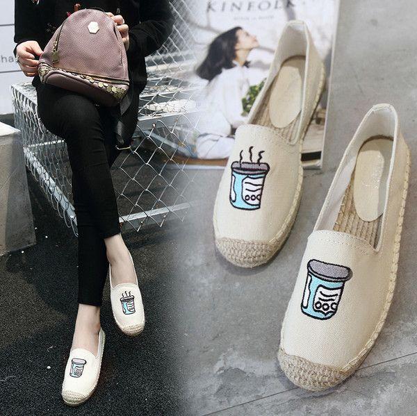 Round Toe Print Women Flats_Flats Women Shoes Wholesale Shoes Wholesale Clothing, Cheap Clothes Online, Discount Clothing Shop - UniWholersaler.com