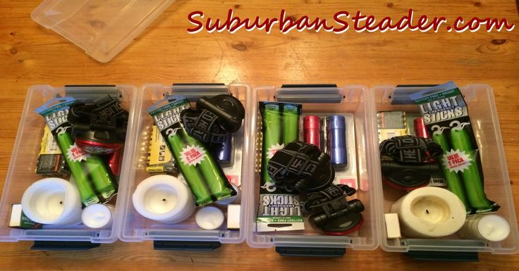 Power outages are high on the list of most likely to occur situations you'll be faced with as a prepper. Learning to build a Black Out Box is a fun, simple project that you can involve the whole family in. Come check out how to do it today!
