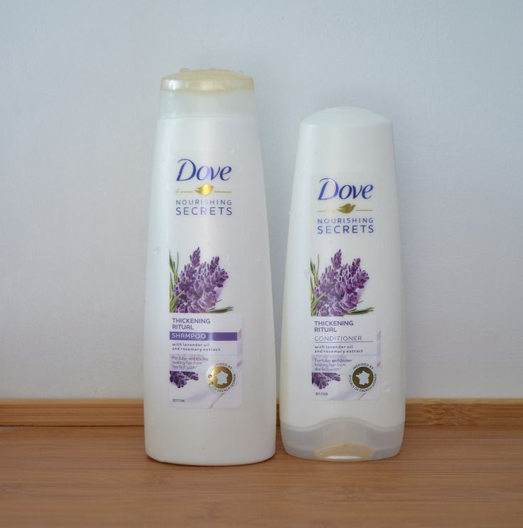 Dove Nourishing Secrets Thickening Ritual Shampoo & Conditioner review.  via @beautybymissl