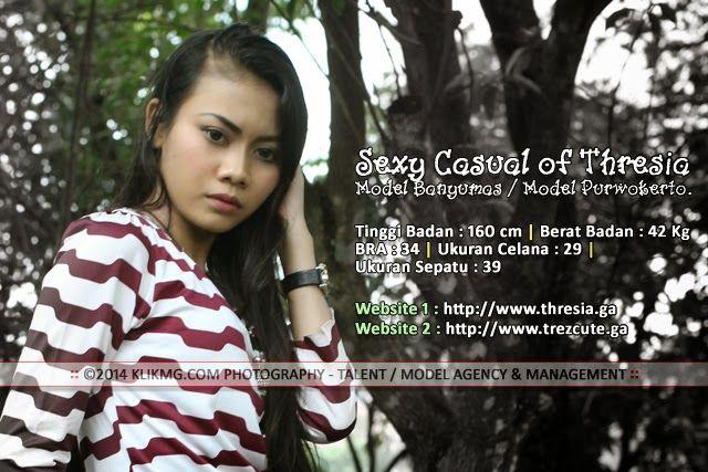 Sexy Casual of Thresia - Model Banyumas / Model Purwokerto.