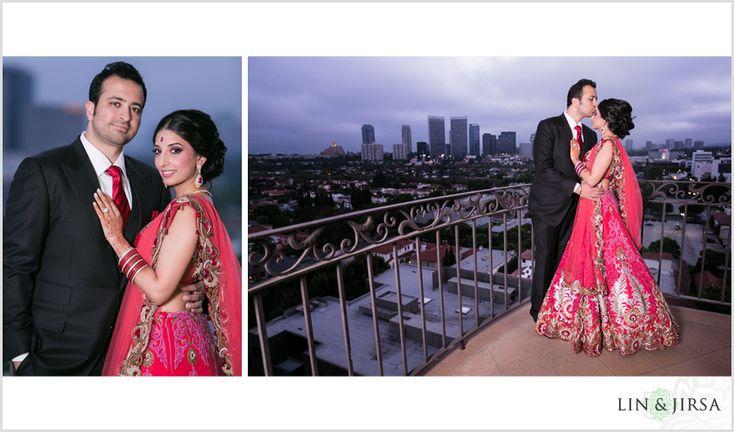 Beverly Wilshire Beverly Hills Indian Wedding Reception | Yuvi & Harleen