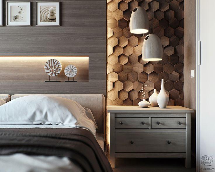 Une #chambre à la #déco #design ! http://www.m-habitat.fr/par-pieces/chambre/quel-style-de-deco-pour-une-chambre-2735_A