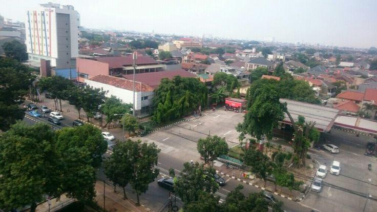 Taken from 7th floor, Sahid University