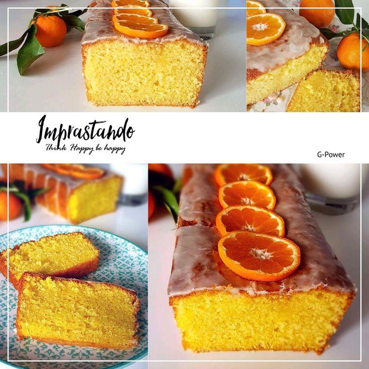 Plumcake ai mandarini (senza burro)