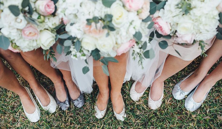 Foldable Ballet Flats for Wedding Receptions | Cinderollies