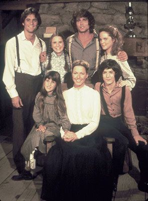 """Little House on the Prairie.  Melissa Gilbert wrote a book about her time on the set of this show.  She almost called it """"Nellie Olson's not a bitch, but Mary is!"""""""