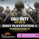 Ganate un Play Station 4 Call of Duty WWII Edición Limitada con El Mañanero