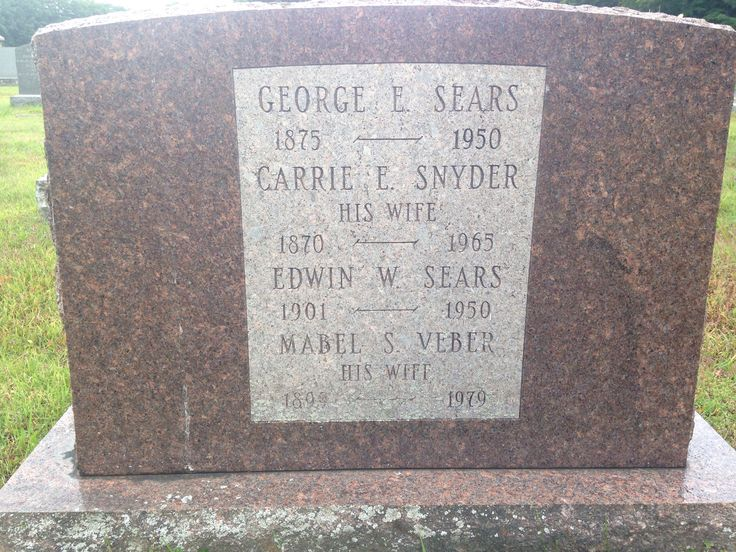 George Edwin Sears (1875-1950) - Find A Grave Memorial