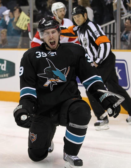 Logan Couture - San Jose Sharks. I'm is biggest fan and don't tell me you are