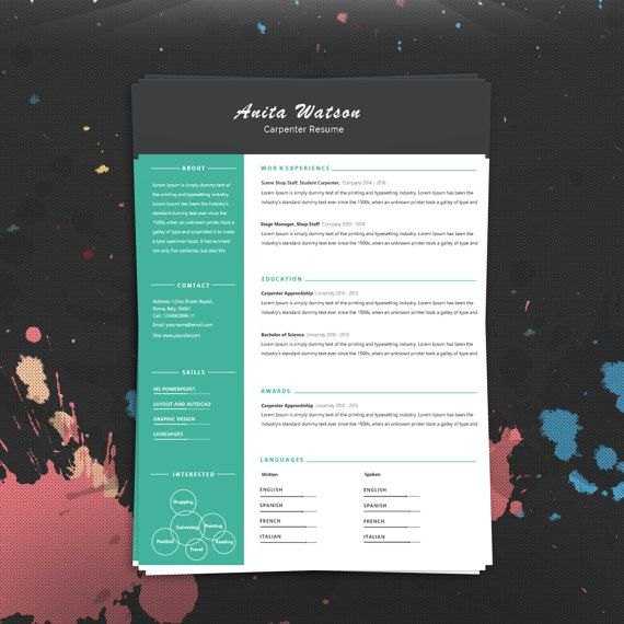 Apply to your dream job in style with this minimal and clean resume suite, complete with matching cover letter! ORDERING IS EASY! ✿ Purchase this template - Paypal and major credit/debit cards accepted ✿ Download the included files INSTANTLY ✿ Install any custom fonts included in the package ✿ Fill in your information, and use the files as many times as you want! ✿ Change or remove any section with ease! This goes for fonts, colors, margins, you name it. YOU WILL RECEIVE: Microsoft Word .doc
