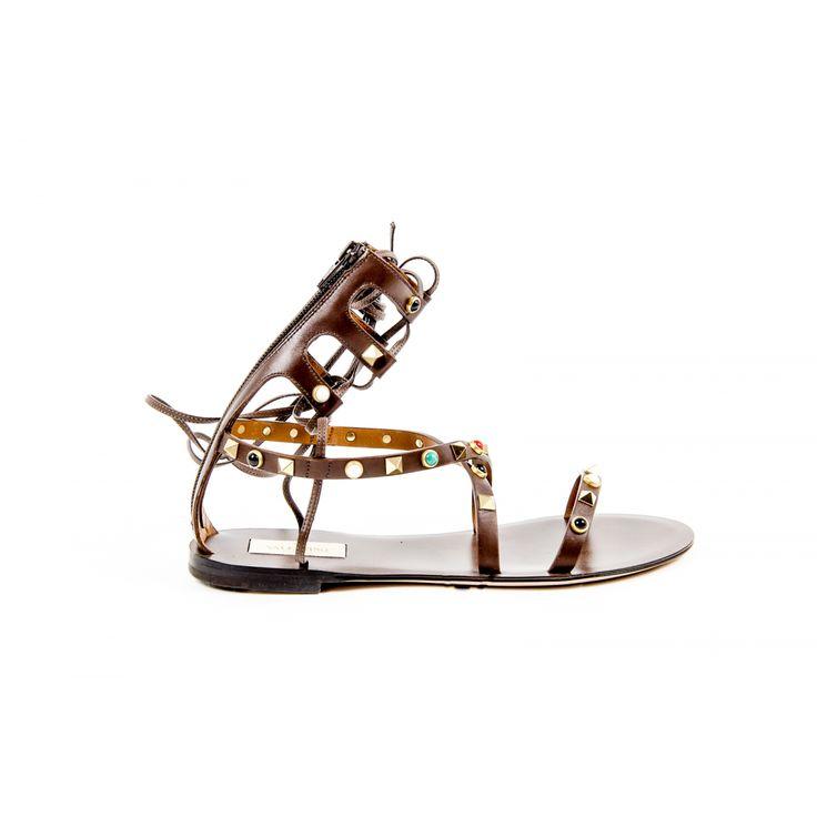 Valentino Womens Gladiator Sandal KW0S0021 VQM 514