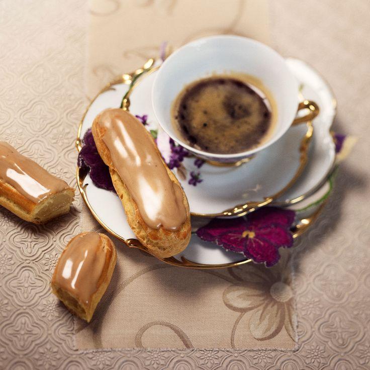 Découvrez la recette des éclairs au café